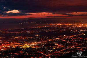 toscana-notte-dall'alto