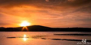 lago di santa luce tramonto