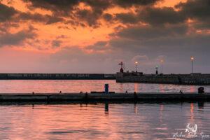 viareggio-molo-tramonto