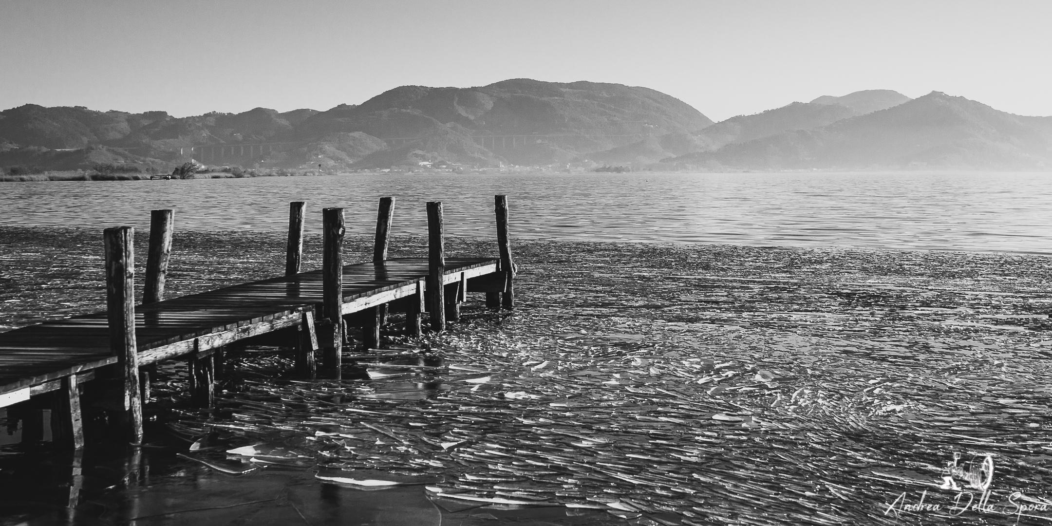 Lago ghiacciato-Massaciuccoli-Torre del lago Puccini