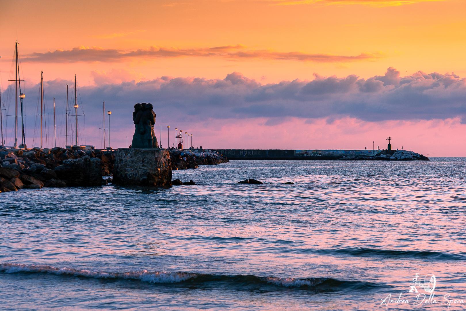 viareggio-mare-molo-tramonto